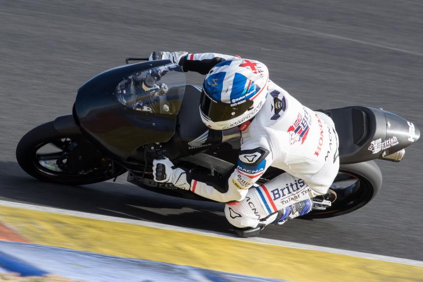 John Mcphee, British Talent Team, Valencia Private Test
