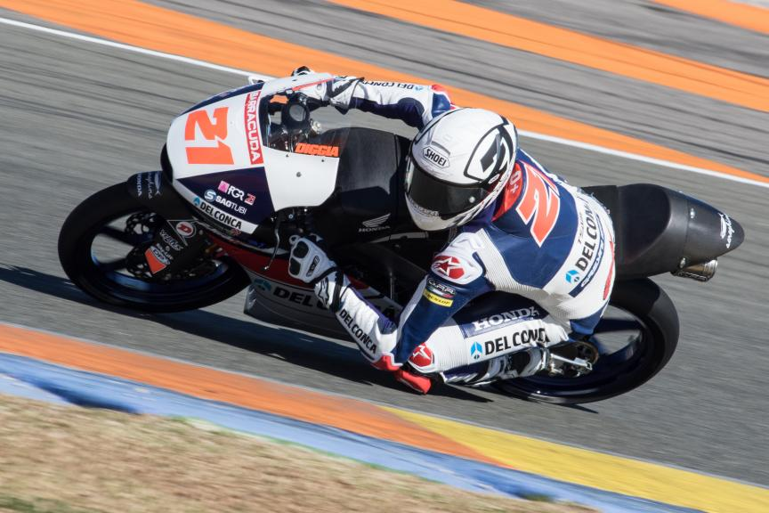Fabio Di Giannantonio, Del Conca Gresini Racing Moto3, Valencia Private Test