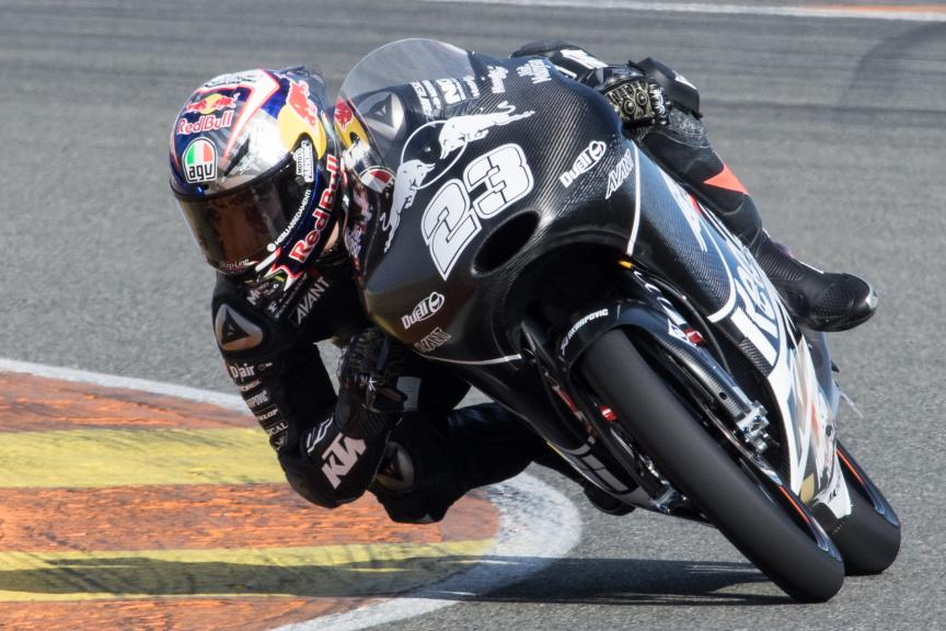 Niccolo Antonelli, Red Bull Ktm Ajo, Valencia Private Test