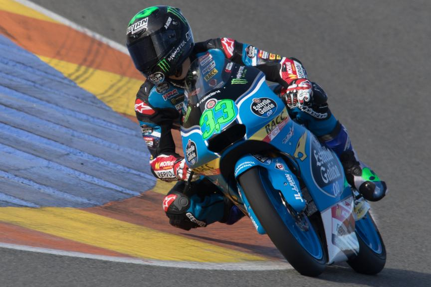 Enea Bastianini, Estrella Galicia 0,0, Valencia Private Test