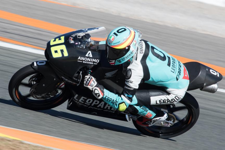 Joan Mir, Leopard Racing, Valencia Private Test