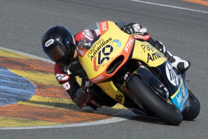 Fabio Quartararo, Pons Racing, Valencia Private Test