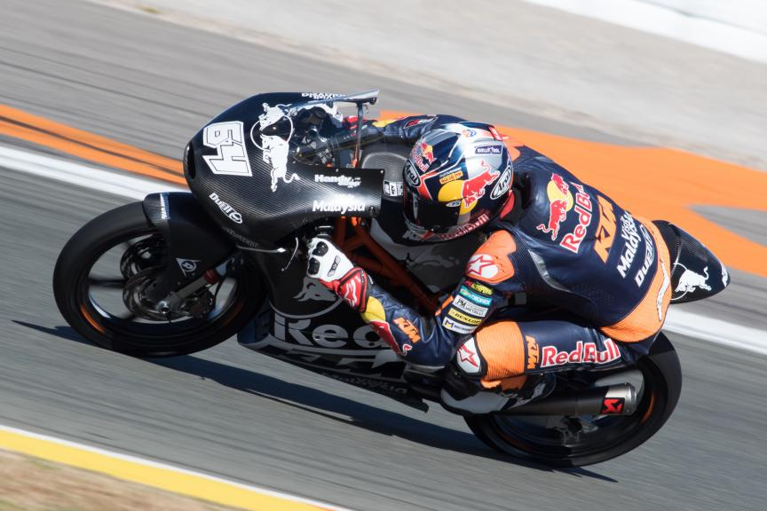 Bo Bendsneyder, Red Bull Ktm Ajo, Valencia Private Test