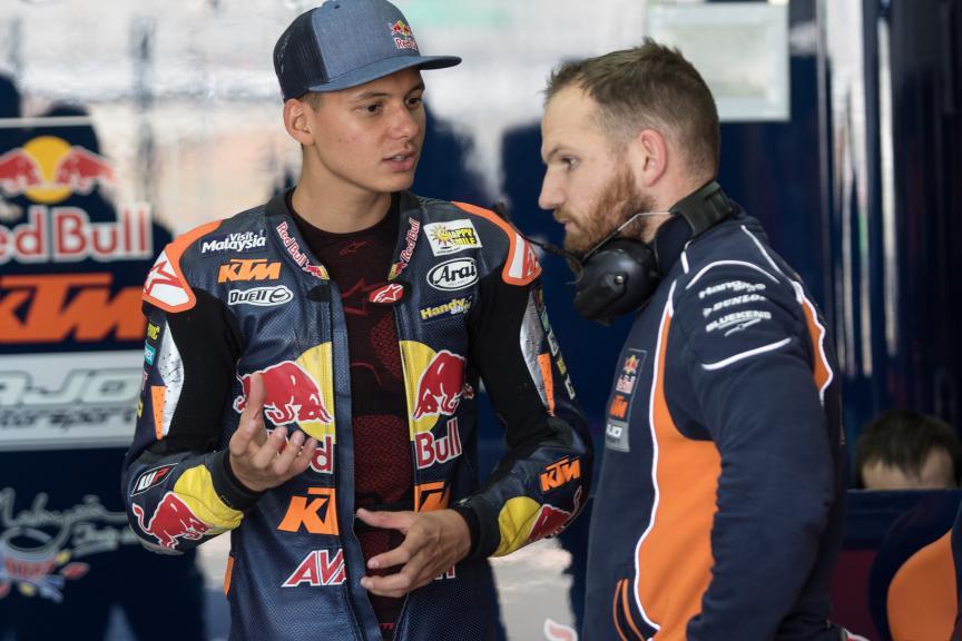 Bo Bendsneyder, Red Bull Ktm Ajo, Valencia Private Test