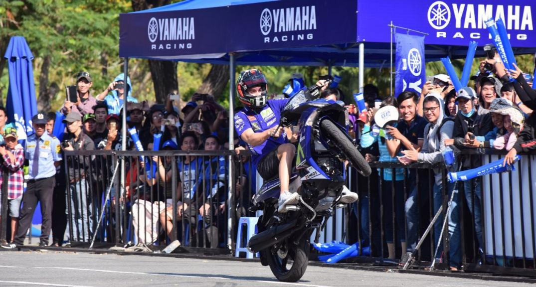 Yamaha, Promotional Tour in Thailand