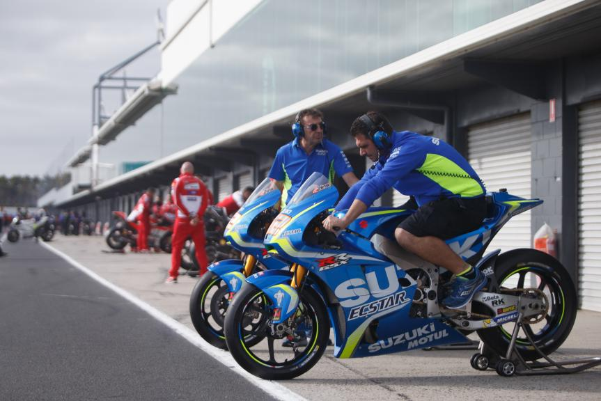 Team Suzuki Ecstar, Phillip Island MotoGP™ Official Test