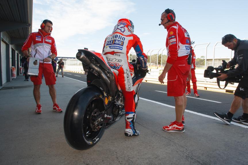 Andrea Dovizioso, Ducati Team, Phillip Island MotoGP™ Official Test