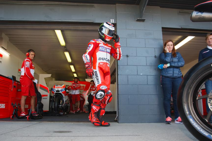 Jorge Lorenzo, Ducati Team, Phillip Island MotoGP™ Official Test