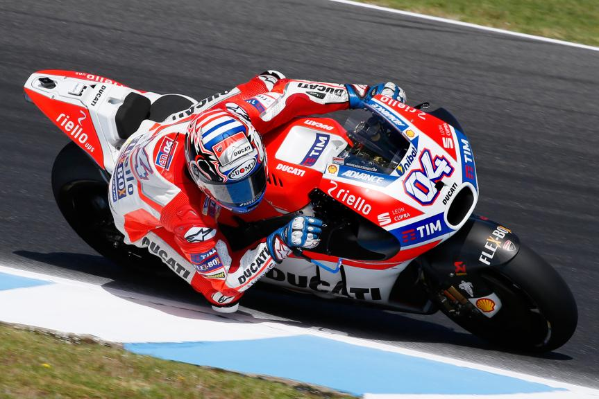Andrea Dovizioso, Ducati Team, Phillip Island MotoGP™ Official Test