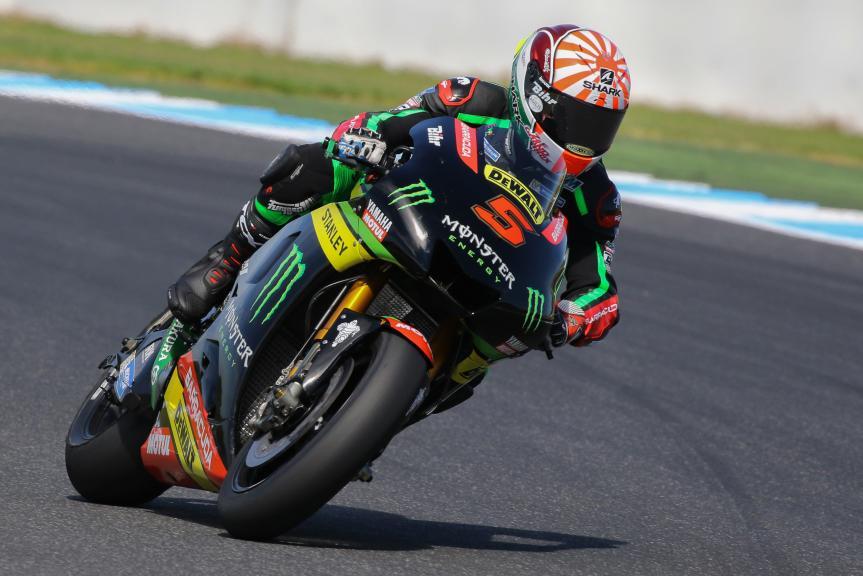 Johann Zarco, Monster Yamaha Tech 3, Phillip Island MotoGP™ Official Test