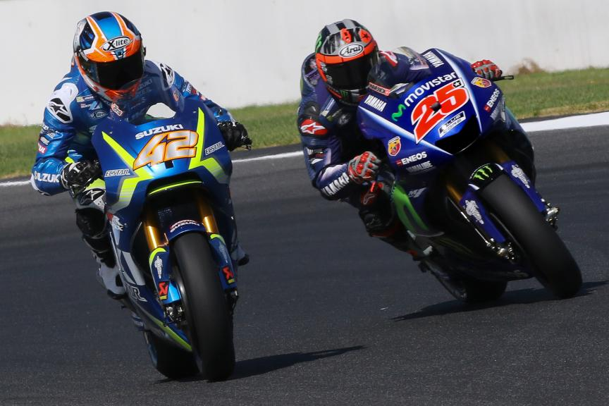 Alex Rins, Team Suzuki Ecstar, Maverick Vinales, Movistar Yamaha Motogp, Phillip Island MotoGP™ Official Test