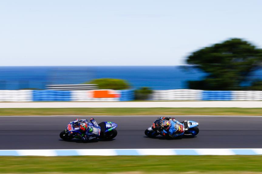 Maverick Vinales, Movistar Yamaha Motogp, Jack Miller, Eg 0,0 Marc Vds, Phillip Island MotoGP™ Official Test
