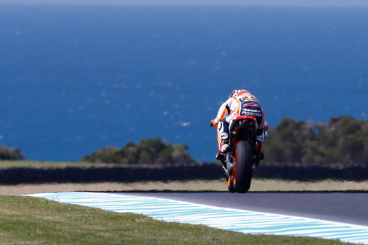Pedrosa concentrating on the front on Day 1 | MotoGP™
