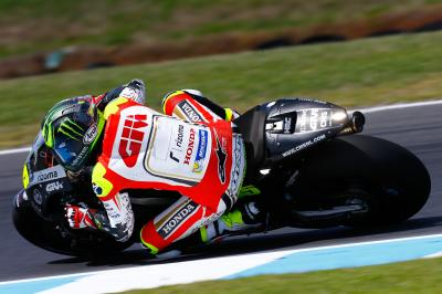 Some positives, some negatives for Crutchlow