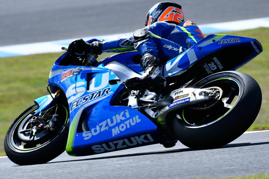 Alex Rins, Team Suzuki Ecstar, Phillip Island MotoGP™ Official Test
