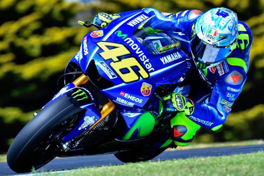 Valentino Rossi, Movistar Yamaha Motogp, Phillip Island MotoGP™ Official Test