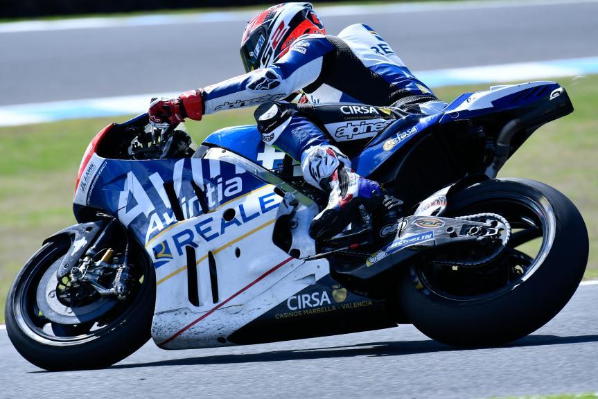 Loris Baz, Reale Esponsorama Racing, Phillip Island MotoGP™ Official Test