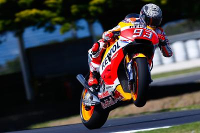 #AusTest Day 1: Marquez sets the marker