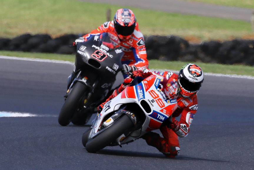 Jorge Lorenzo, Ducati Team, Danilo Petrucci, Octo Pramac Yakhnich, Phillip Island MotoGP™ Official Test