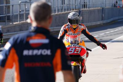 107 laps not out: Marquez marches on with the program