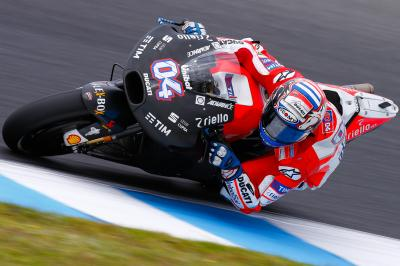 Dovizioso concentrates on setup and chassis in the #AusTest