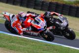 Andrea Dovizioso, Ducati Team, Scott Redding, Octo Pramac Yakhnich, Phillip Island MotoGP™ Official Test