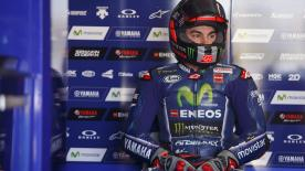 Maverick Vi?ales ends the second day of testing at Phillip Island fastest, ahead of Rossi and Crutchlow