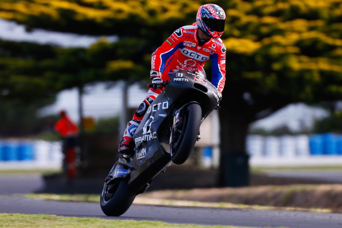 Petrucci: Rundenzeiten im Moment nicht wichtig | MotoGP™