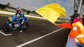 The third day from Phillip Island's MotoGP pre-season test kicks off