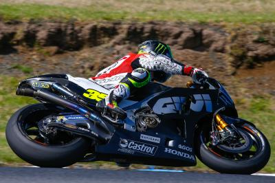 Crutchlow positive about pace