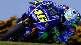 Some of the best trackside footage from first day at Phillip Island's MotoGP™ test