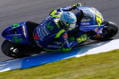 Rossi: Nicht sehr happy