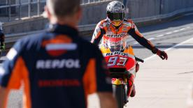 We review the first day of the MotoGP? test from Phillip Island in Australia