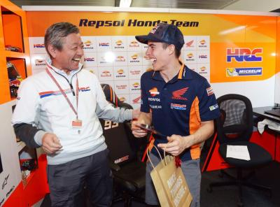 Marc Marquez' Birthday Surprise!