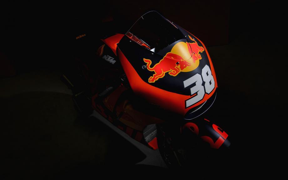 KTM 2017 launch,Bradley Smith