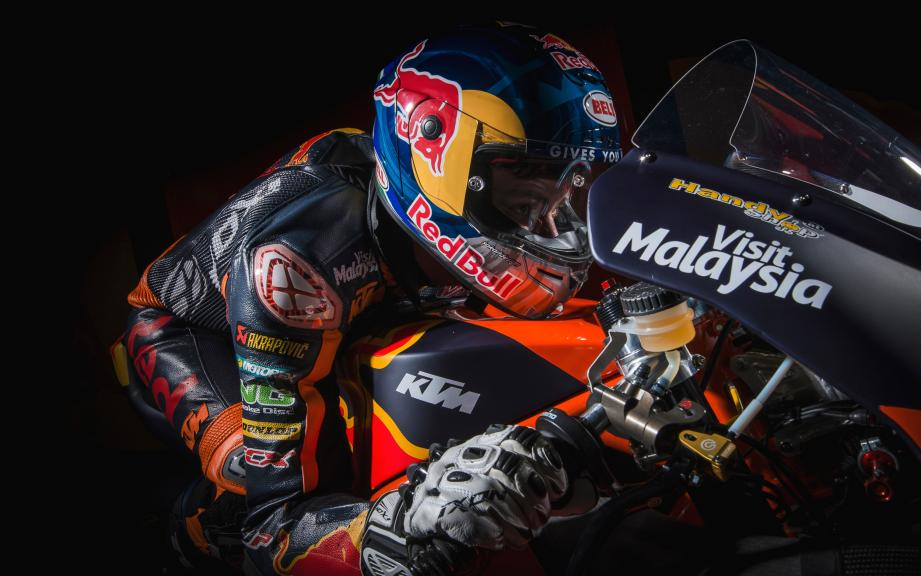 KTM 2017 launch, Brad Binder