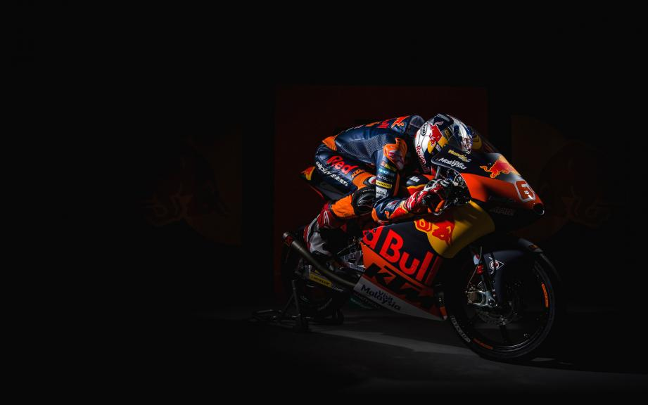 KTM 2017 launch, Bo Bendsneyder