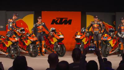 KTM launches 2017 MotoGP™, Moto2™ and Moto3™ campaign