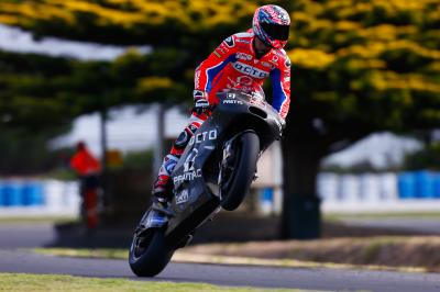 Petrucci satisfied with productive mileage at Phillip Island