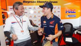 Check out what the Repsol Honda team had in store to celebrate Marc Marquez' 24th birthday