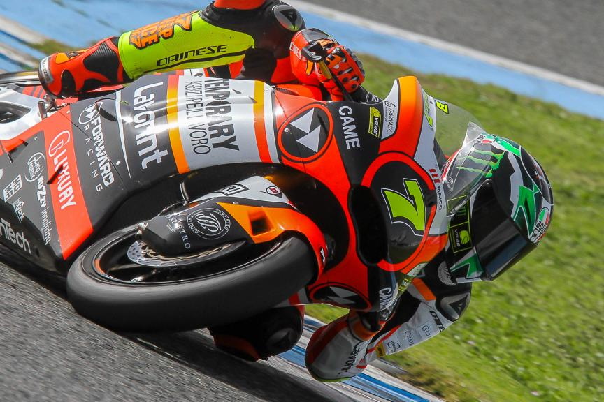 Lorenzo Baldassari, Forward Team, Moto2 & Moto3 Jerez Private Test