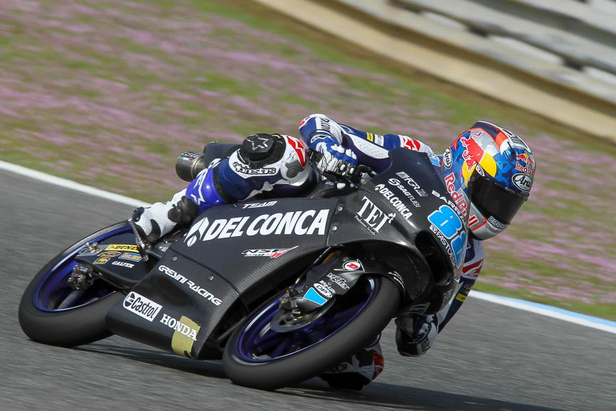 Jorge Martin, Del Conca Gresini Racing Moto3, Moto2 & Moto3 Jerez Private Test