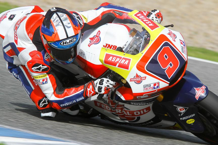 Jorge Navarro, Federal Oil Gresini Moto2, Moto2 & Moto3 Jerez Private Test