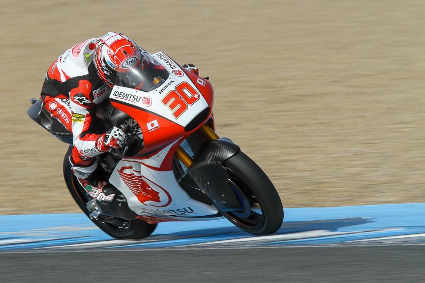 Takaaki Nakagami, Idemitsu Honda Team Asia, Moto2 & Moto3 Jerez Private Test