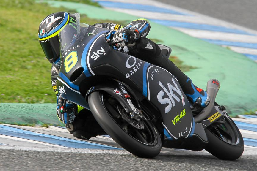 Nicolo Bulega, Sky Racing Team Vr46, Moto2 & Moto3 Jerez Private Test