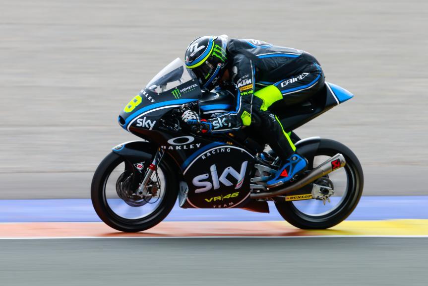 Nicolo Bulega, Sky Racing Team Vr46, Valencia Private Test