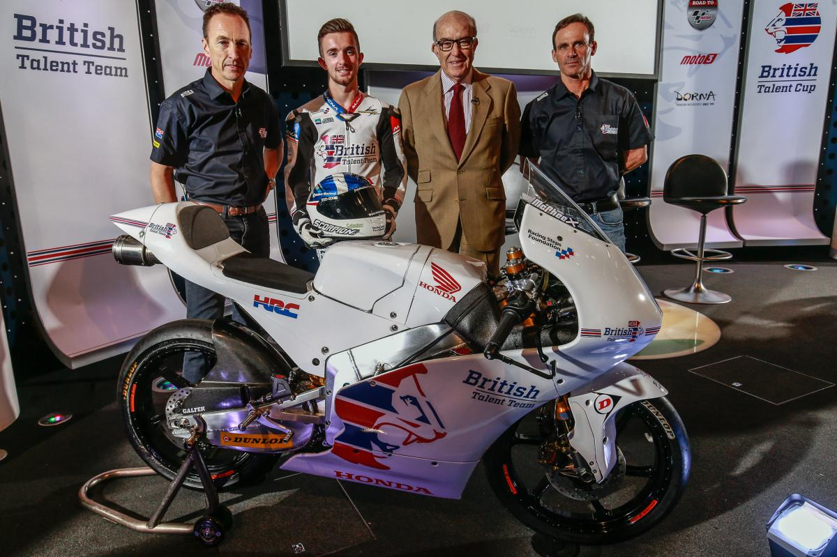 British Talent Team Moto3™ Launch