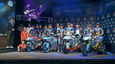 EG0,0 Marc VDS MotoGP™ Team in Madrid präsentiert