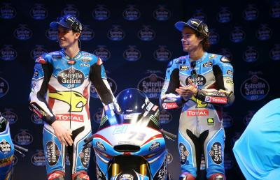Morbidelli and Marquez launch Moto2™ season in Madrid