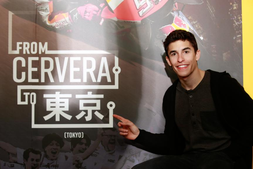From Cervera to Tokio, Marc Marquez